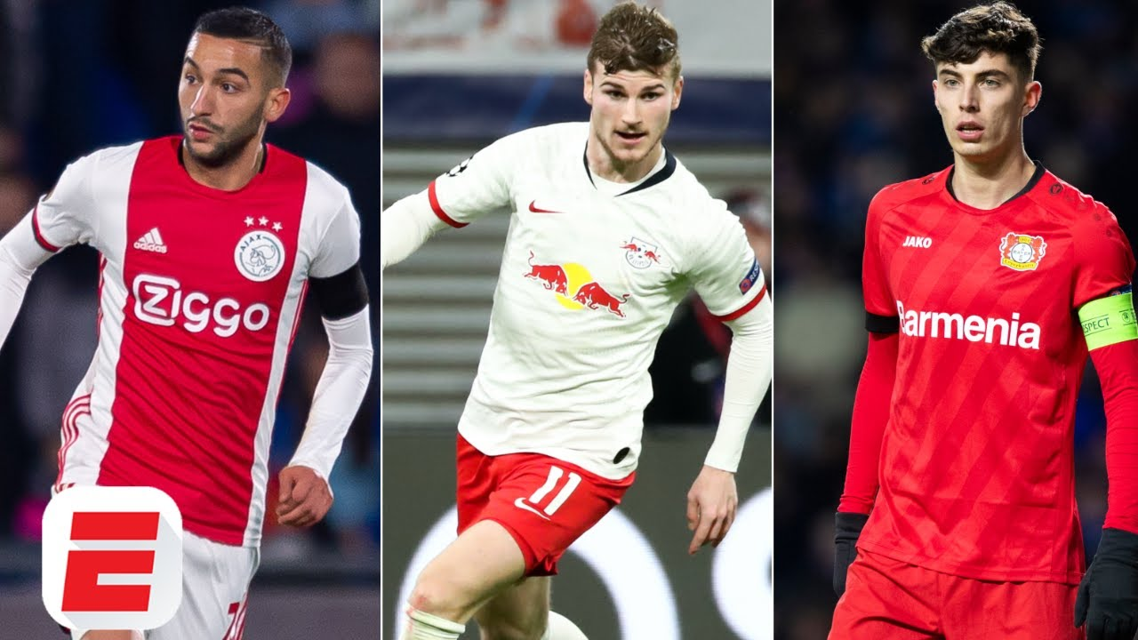 How Hakim Ziyech, Timo Werner & Kai Havertz could shape Chelsea's ...