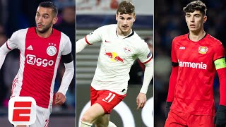 How Hakim Ziyech, Timo Werner & Kai Havertz could shape Chelsea's attack - ESPN FC