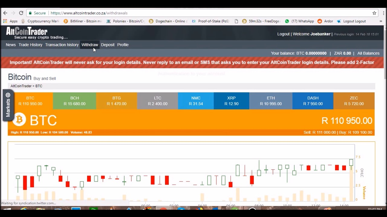 altcoin trader fees