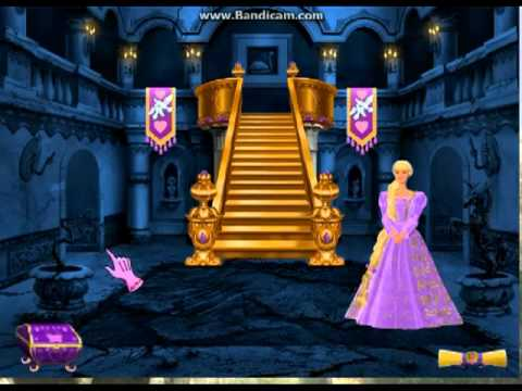 barbie princess rapunzel games