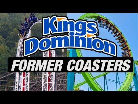 5 Former Coasters at Kings Dominion
