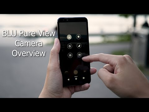 Budget Phone: BLU Pure View Camera Overview