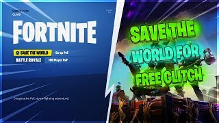 *NEW* How To Get Fortnite SAVE THE WORLD FOR FREE!! [XBOX ONE, PS4]