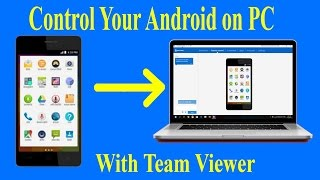 Control your android on PC in hindi with team viewer