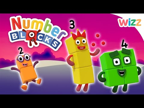Numberblocks - Learn to Count | Follow A Number | Wizz | Cartoons for Kids