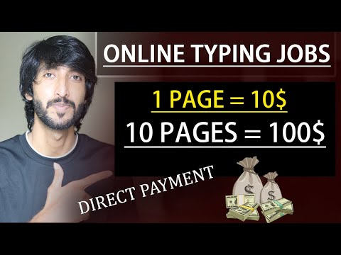 1 Page = 10$ || Online earning in Pakistan || Easy online typing jobs with Articles Insider