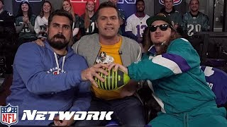 Big Cat & PFT Commenter Make Special Appearance on The Kyle Brandt Football Experience | NFL Network