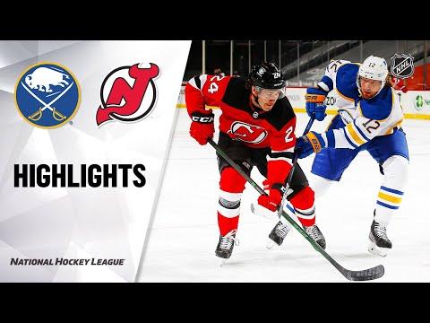 Sabres @ Devils 2/20/21 | NHL Highlights