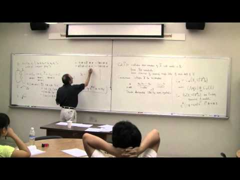 X-Math@LSU Summer 2009, The Twisted Alexander Polynomial, Part VII, Lecture by Dan Silver