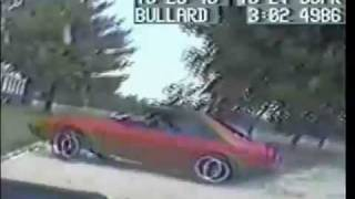 Police Chase and Car Crash - Ford Mustang