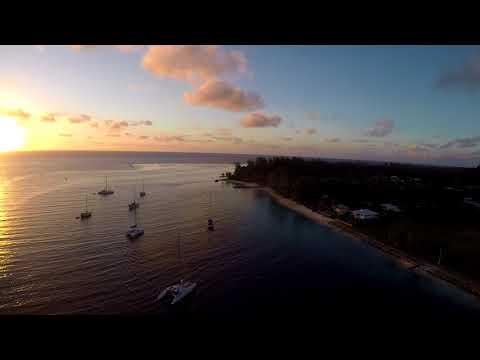 French Polynesia Huahine Drone project