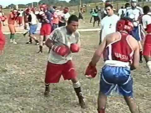 Ussr and Cuba training boxing ,trainer  Golybkov I.V.