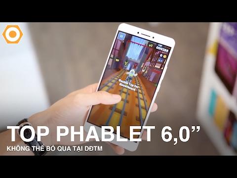 """Những phablet màn hình lớn 6,0"""" không thể bỏ qua tại DĐTM"""