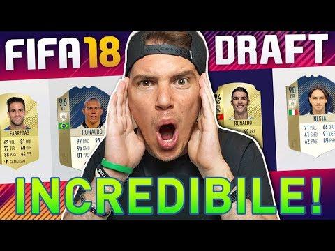 IL MIO PRIMO DRAFT su FIFA 18!! (scandaloso ma...) RONALDO + 2 ICON - FIFA 18 Ultimate Team