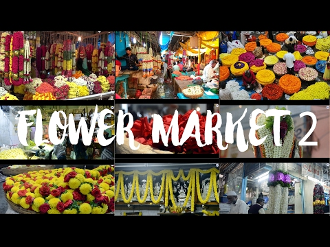 Biggest flower Market in ASIA .!