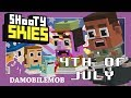 ★ SHOOTY SKIES 4th of July Update   ALL SECRET CHARACTERS Unlocked (4th of July Shooty Skies)