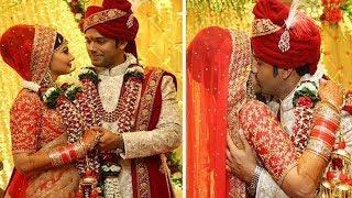 टीवी के कृष्ण ने 10 साल डेटिंग के बाद की गर्लफ्रेंड से शादी, यूं किस करते दिखे