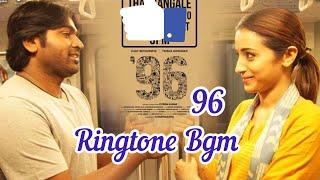 96 Movie Ringtone Bgm | Vijay Sethupathi | Trisha | Tune Aid