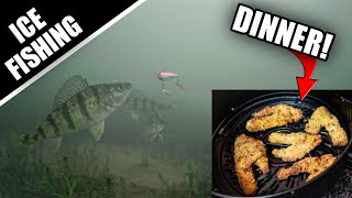 Ice Fishing for Perch Dinner |…