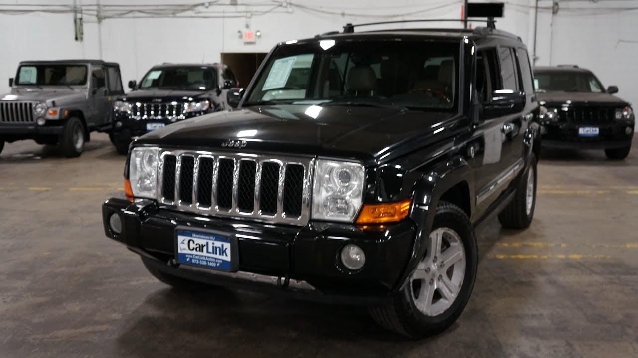 2009 jeep commander overland hemi