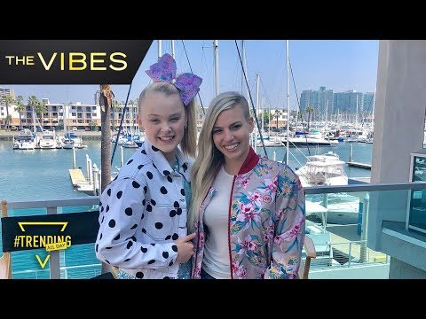 JoJo Siwa Interview // The Vibes // Trending All Day