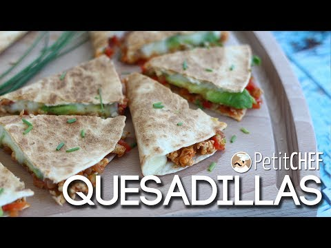 Quesadillas - Ricetta messicana, PetitChef.it