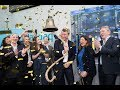 NENT Group Listing Ceremony at Nasdaq Stockholm