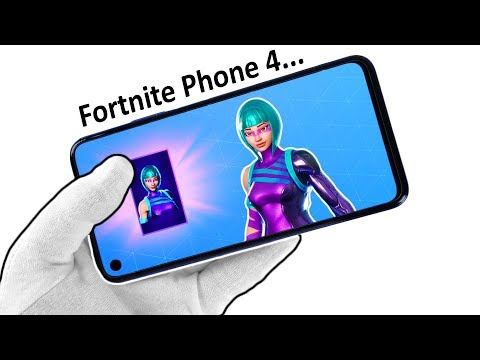 "The ""Fortnite Phone 4"" Unboxing (Wonder Skin) Honor 20 Smartphone Fortnite Battle Royale"