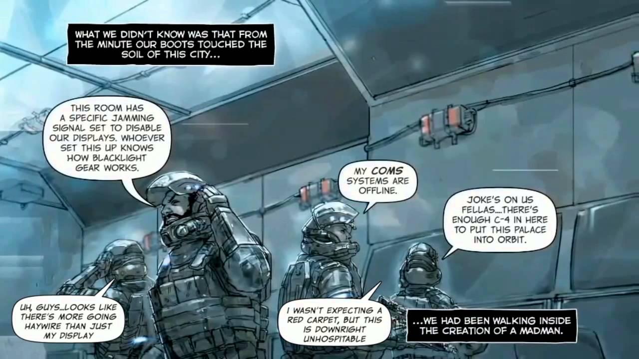 Digital Comic, Part 6 - Blacklight: Retribution