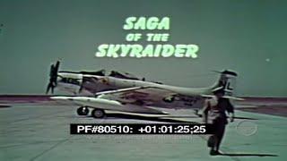 Saga of the SkyRaider - A-1 Spad 80510