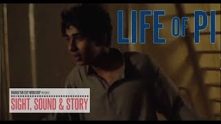 """Sound Editors Phil Stockton, Eugene Gearty, and Sam Miille discuss the shipwreck in """"Life of Pi"""""""