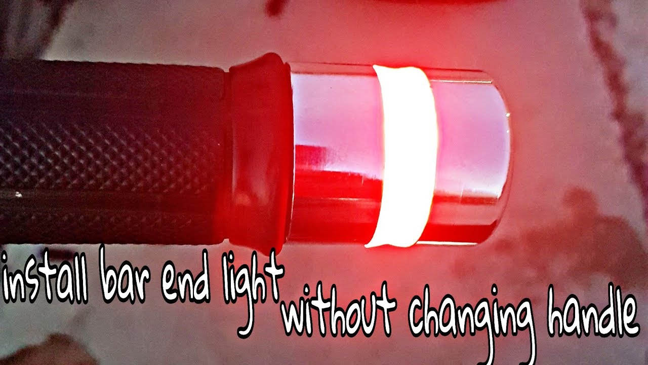 How To Install End Bar Light Indicate Without Change Handle Vintage Neon Sign Wiring Diagram In Splendor