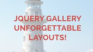 jQuery Gallery - Unforgettable Layouts! thumbnail