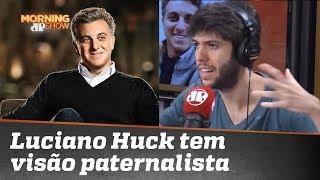 Caio Coppolla: Luciano Huck tem uma visão paternalista sobre política
