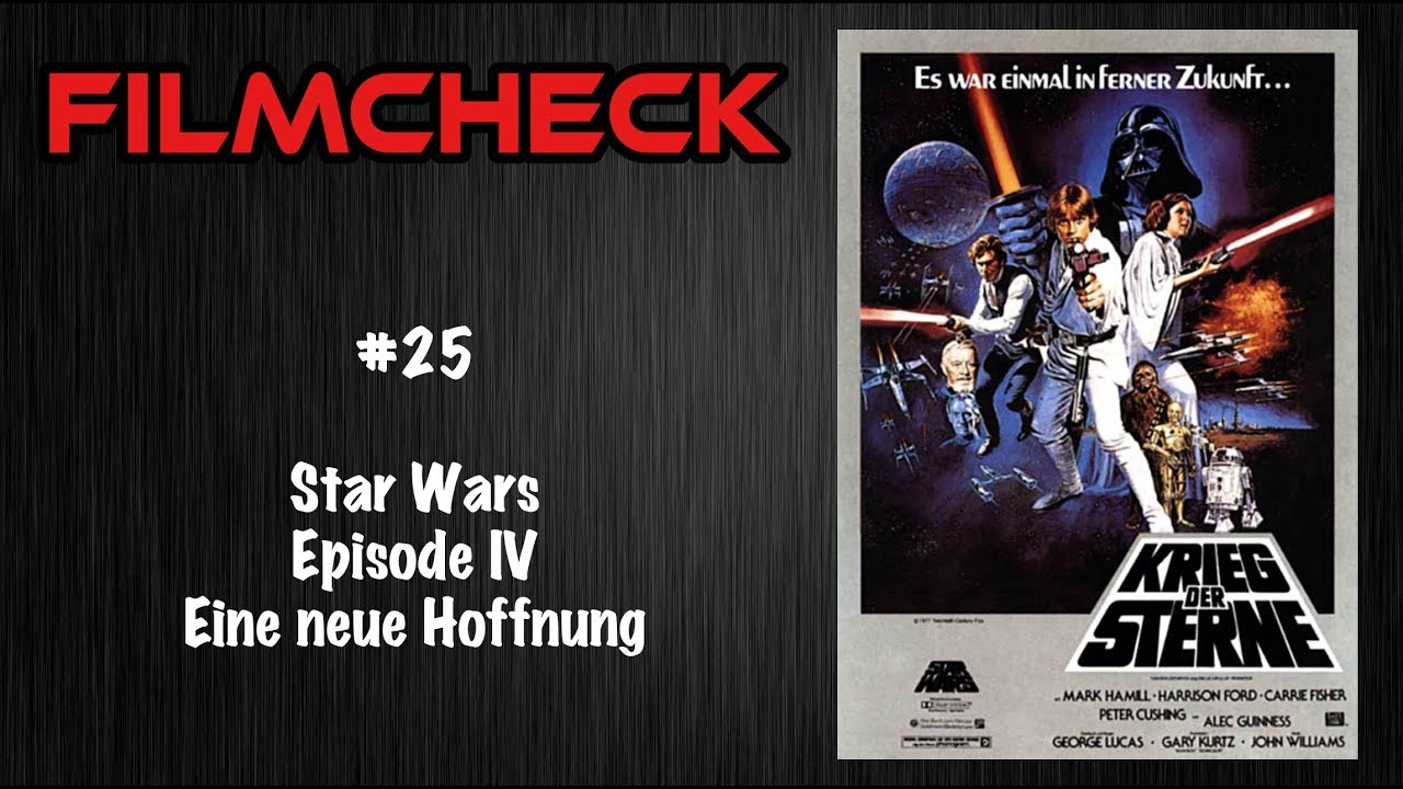 Star Wars Episode Iv Filmcheck Youtube