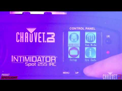 Chauvet DJ Product Spotlight - Powerful New Intimidator Software