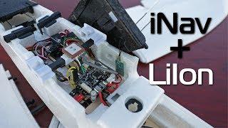 ZOHD Nano Talon - iNav + LiIon battery upgrade (2 hour flight time potential)
