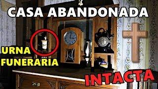 ENCONTRAMOS URNA FUNERARIA 👻 EN CASA ABANDONADA INTACTA | Desastrid Vlogs