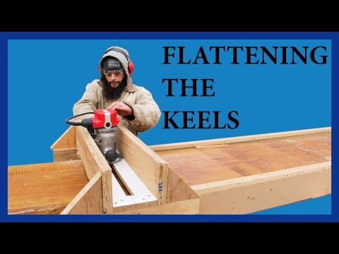 Flattening the keels - Acorn to Arabella