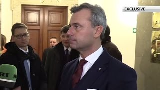 Anti Russian sanctions not useful, have to end them – Austrian pres candidate Hofer (EXCLUSIVE)
