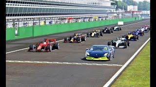 Lamborghini Gallardo 7700 HP vs F1 2019 Cars - Monza