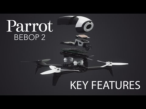 Parrot Bebop 2 Drone - Key Features