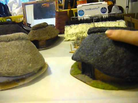 28mm scratch built buildings wargaming