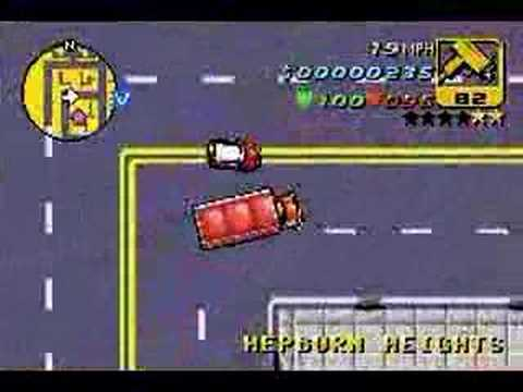 GTA Advance GBA Gameplay