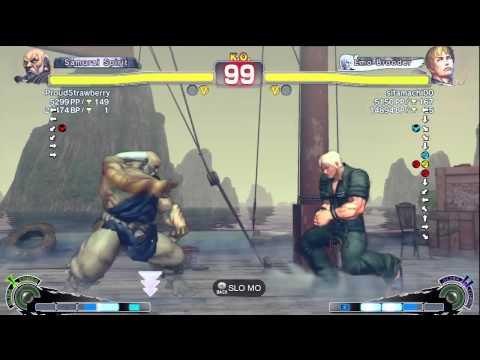 Super Street Fighter IV AE2012 - Sitamachi00 (Cody) Vs ProudStrawberry (Gouken)