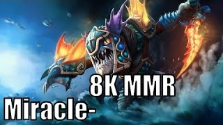 Dota2 | Miracle Slark Carry Pro 8000 MMR