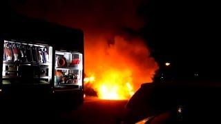 Opnieuw autobrand: Twee auto's in Beverwijk verwoest door vlammen | 17/02/2019