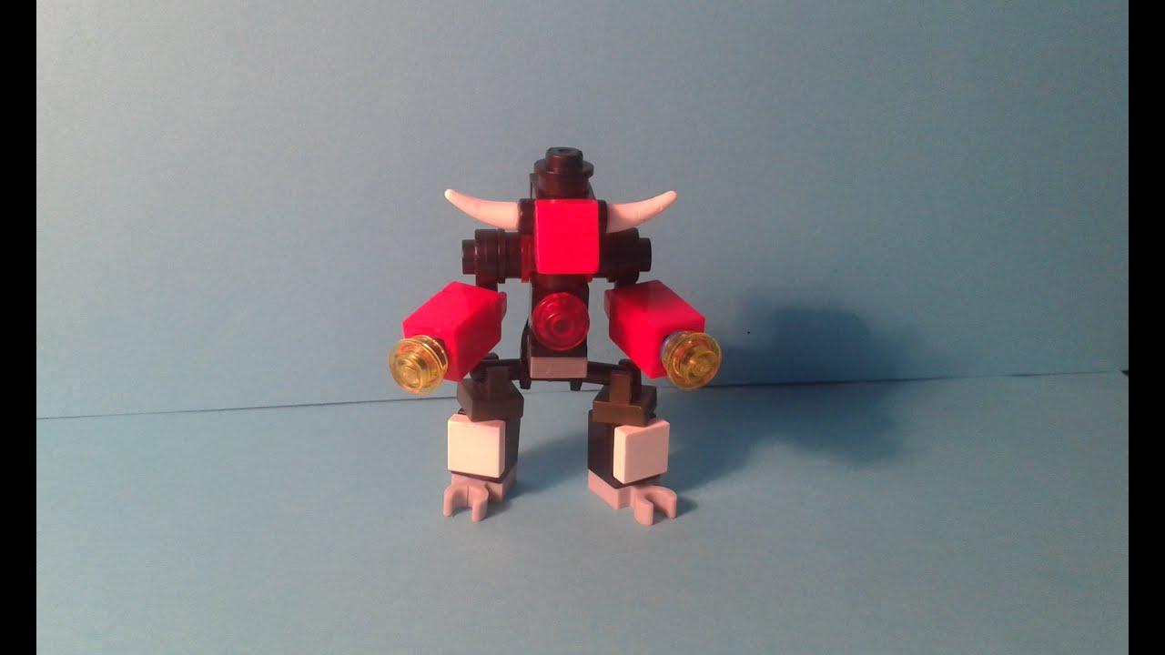 Инструкция лего роботы.
