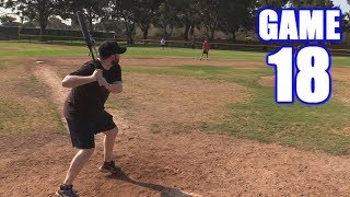 MY FIRST HOME RUN IN FOREVER! | On-Season Softball Series | Game 18
