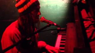 Garrett Eaton on piano @ Earphoria Open Mic